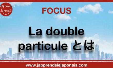 FOCUS sur la double particule とは